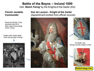 Battle of the Boyne 1690 Irish Match Fixing by the Knights of the  Garter p2 | by arthur.strathearn
