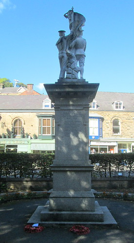 Matlock Bath War Memorial From North