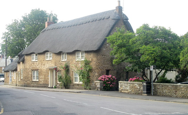 Oakham,thatched cottage, Rutland