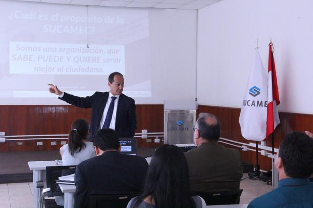 Servidores de la Sucamec participan en taller de integridad y lucha contra la corrupción