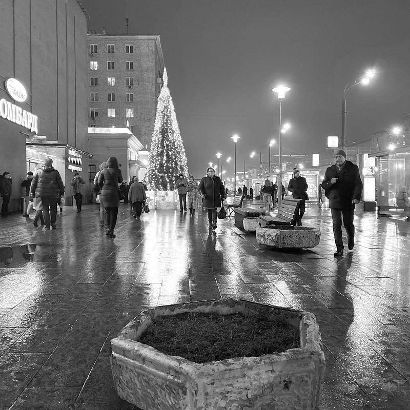 Новогоднее убранство столицы