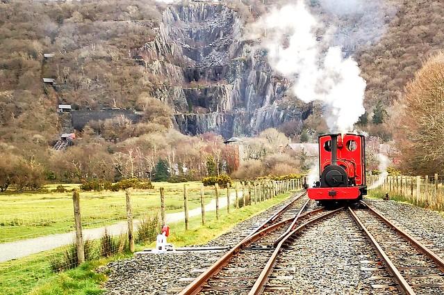 Steam and Vivian quarry