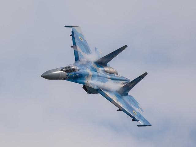 Ukrainian Air Force Su-27 'Flanker'