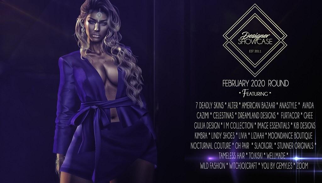 Designer Showcase * February Round * 2020