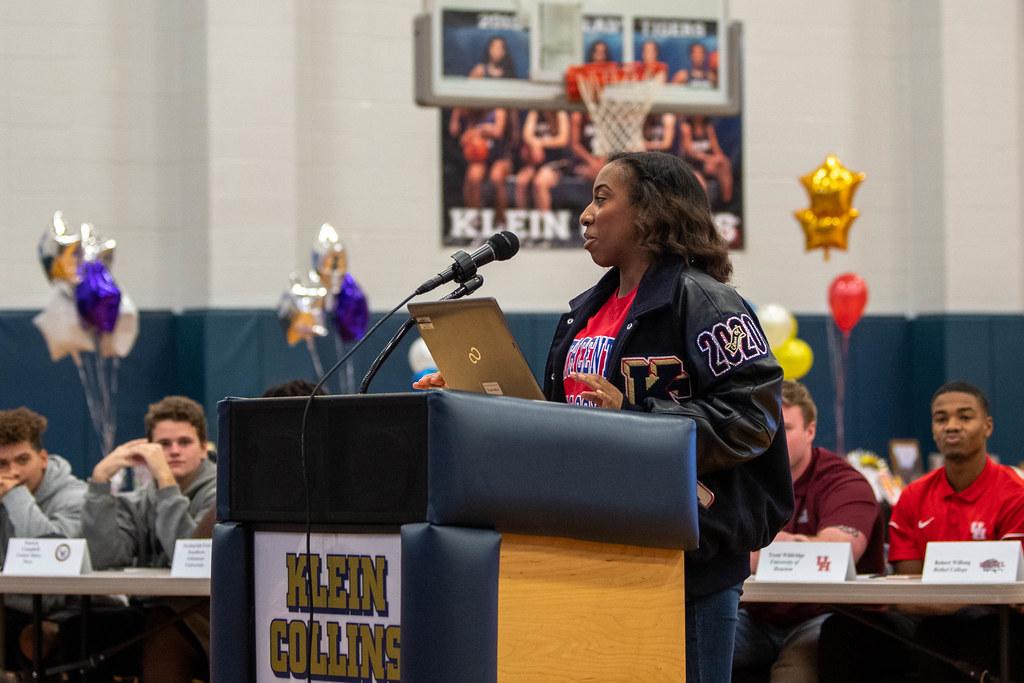 2020 Klein Collins High School Signing Day