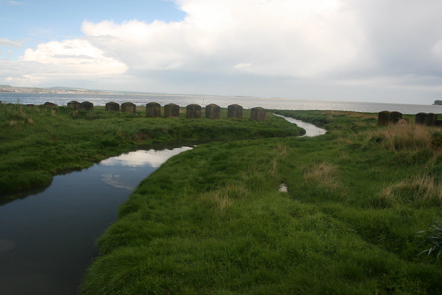 The coast east of Tayport
