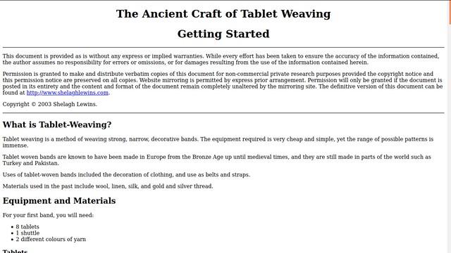 tablet weaving webpage in full-screen mode in firefox