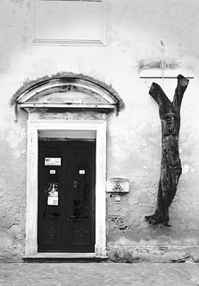 Door of an old church. | by alecompa