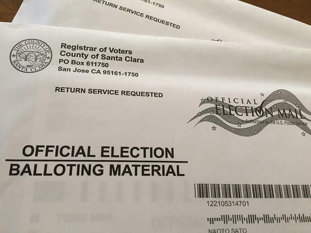 Official Election Balloting Material