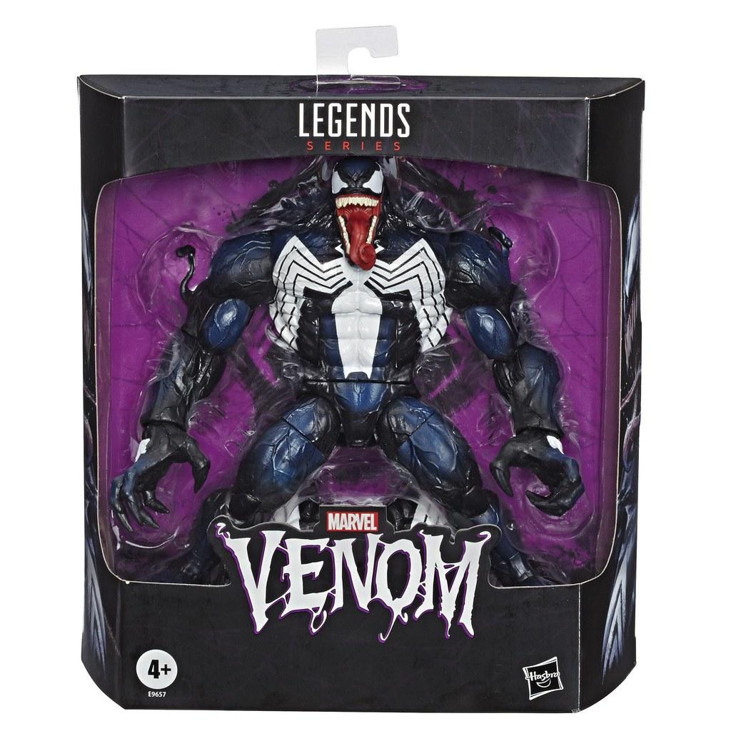 爽度滿分的狂暴肌肉感! Hasbro 漫威傳奇系列【猛毒】Marvel Legends Series Venom 6 吋可動人偶