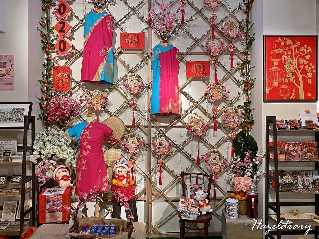 Chinatown Heritage Centre-Cheongsams