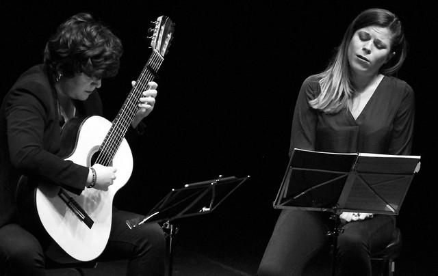 DÚO MELÓMANO, MARTA HERAS, SOPRANO & SARA GUERRERO, GUITARRA - CICLO JUVENTUDES MUSICALES - TEATRO EL ALBÉITAR DE LA UNIVERSIDAD DE LEÓN - 4.2.20