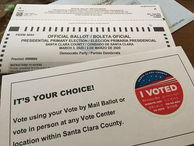 I VOTED 🤔