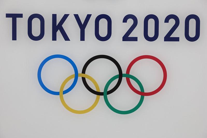 東京奧運標誌。(達志影像資料照)