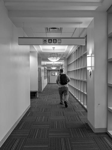 corridor at the clinic