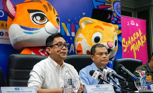 Karnival Semarak Juara 2020 bakal hangatkan SUKMA XX Johor 2020
