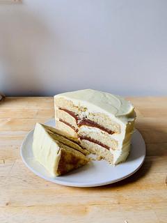 primer pastel de prueba