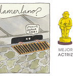 """Mejor Actriz: La protagonista de """"Lamerlano""""."""