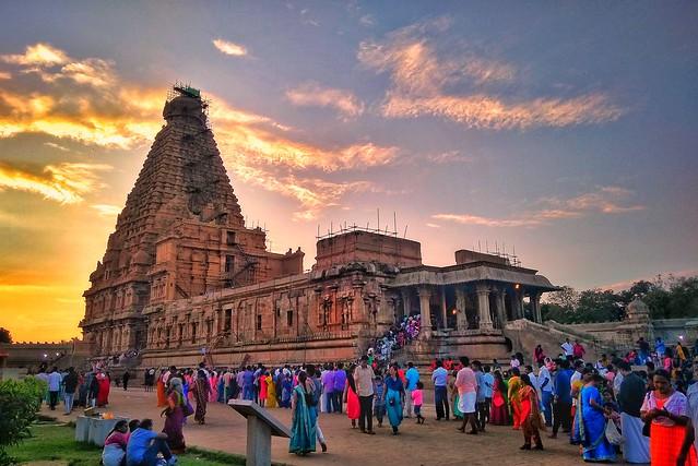 பிரகதீஸ்வரர் கோவில் | தஞ்சை | தமிழ்நாடு | இந்தியா Brahadeeswar Temple | Tanjore | Tamilnadu | India