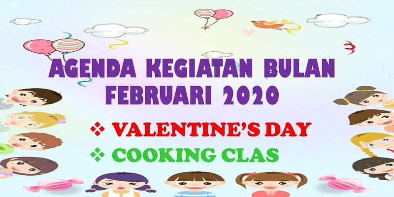 Agenda Kegiatan Sekolah Bulan Februari 2020