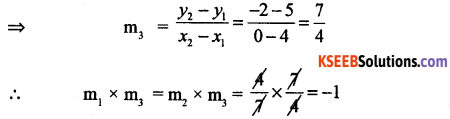 1st PUC Basic Maths Question Bank Chapter 17 Straight Lines - 4