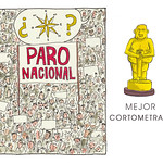 "Mejor Cortometraje: ""Paro Nacional"""