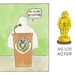 Mejor Actor: El Ministro de Defensa, sea quien sea.