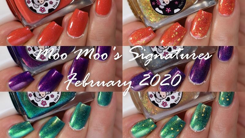 Moo Moo's Signatures February 2020