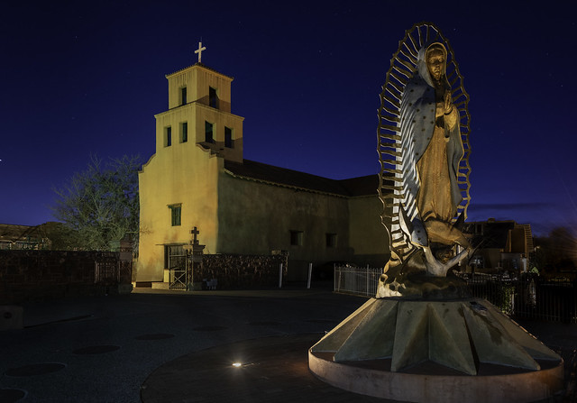 Our Lady of Guadalupe Santa Fe by Stuart Wilson