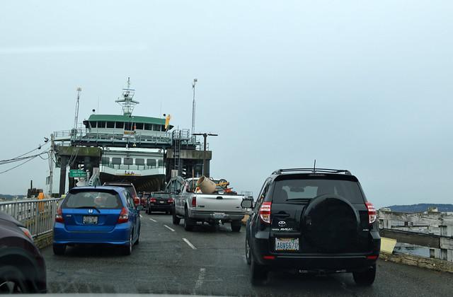 SR 525 @ Mukilteo Dock Ferry