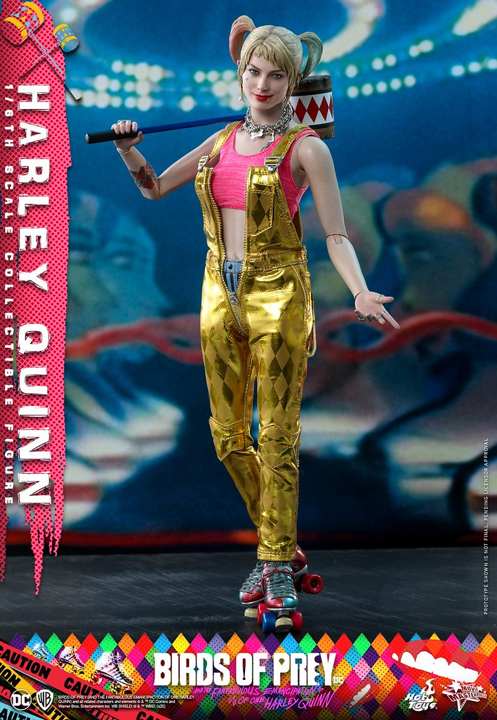 全新造型華麗登場! Hot Toys – MMS565 -《猛禽小隊:小丑女大解放》哈莉·奎茵 Harley Quinn 1/6 比例人偶