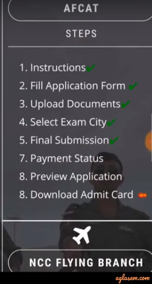 AFCAT 2 Admit Card