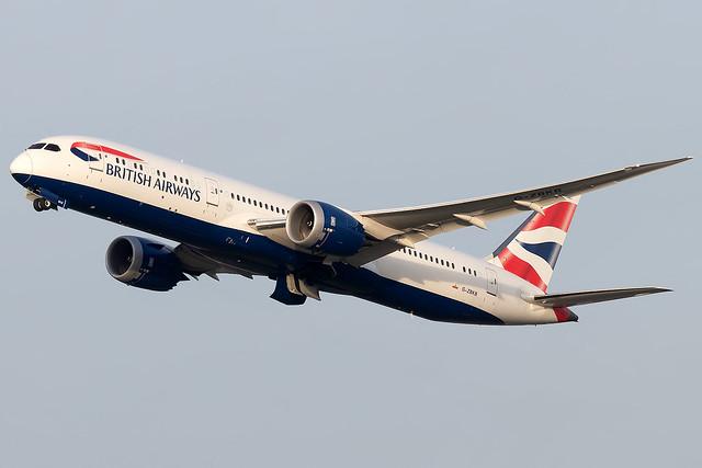 G-ZBKB British Airways B787-9 Dreamliner London Heathrow Airport