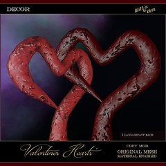 Lilith's Den - Lilith's Den - Valentines Heart Elements