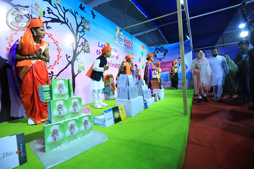 Satguru Mata Ji blessing the Kids Exhibition