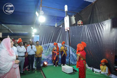Model - ISRO Chandrayaan