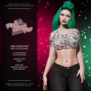 Cris Crush Crops | by Pink Cream Pie