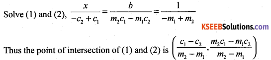 1st PUC Basic Maths Question Bank Chapter 17 Straight Lines - 13