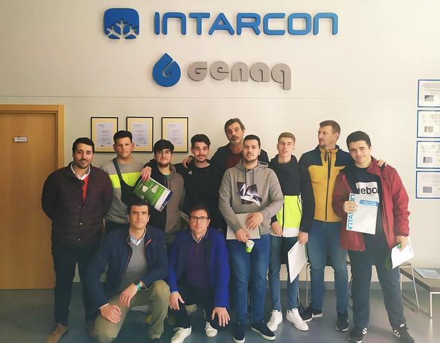 Visitas de nuestros alumnos de climatización a empresas