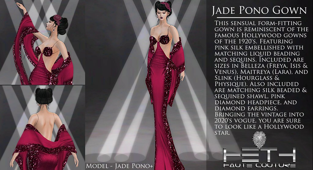 HHC – Jade Pono Gown POSTER