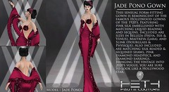 HHC - Jade Pono Gown POSTER