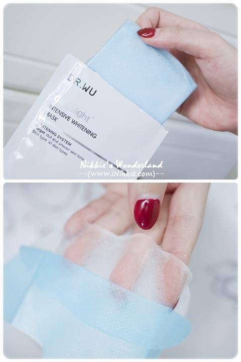 DR.WU 達爾膚 潤透光美白微導面膜