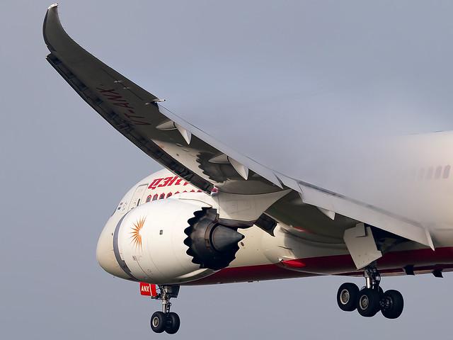 VT-ANX Air India B787-8 Dreamliner London Heathrow Airport