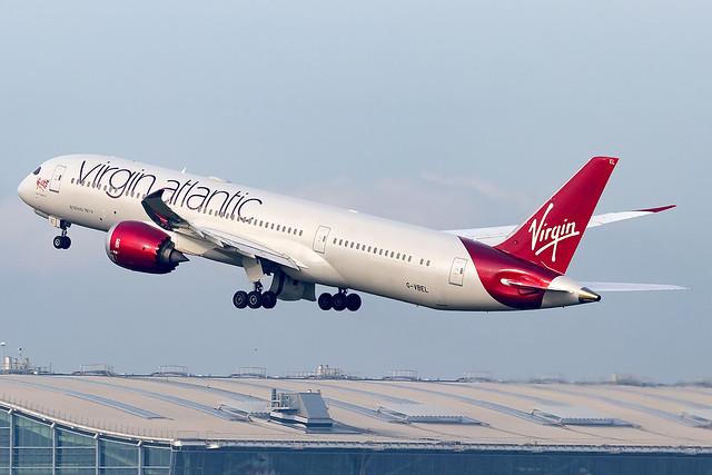 G-VBEL Lady Freedom Virgin Atlantic B787-9 Dreamliner London Heathrow Airport