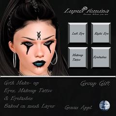 """""""Lupus Femina"""" Goth Makeup Genus  - Group Gift"""