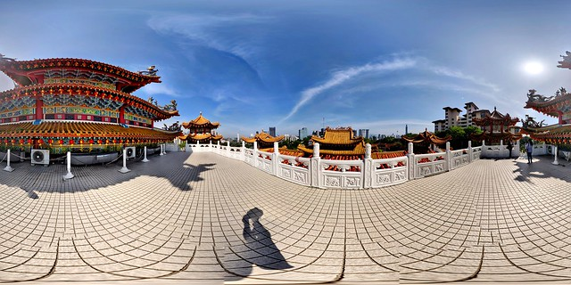 360° Image at the Thean Hou Temple
