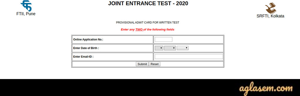 SRFTI Admit Card 2020 (Available!) - Download here!