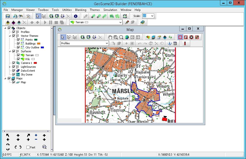 Working with I-GIS GeoScene3D v10 full license