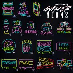 [Kres] Gamer Neons
