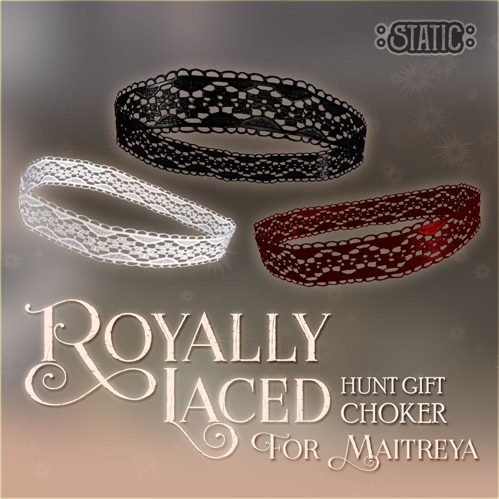 Royally Laced Choker {Hunt item}